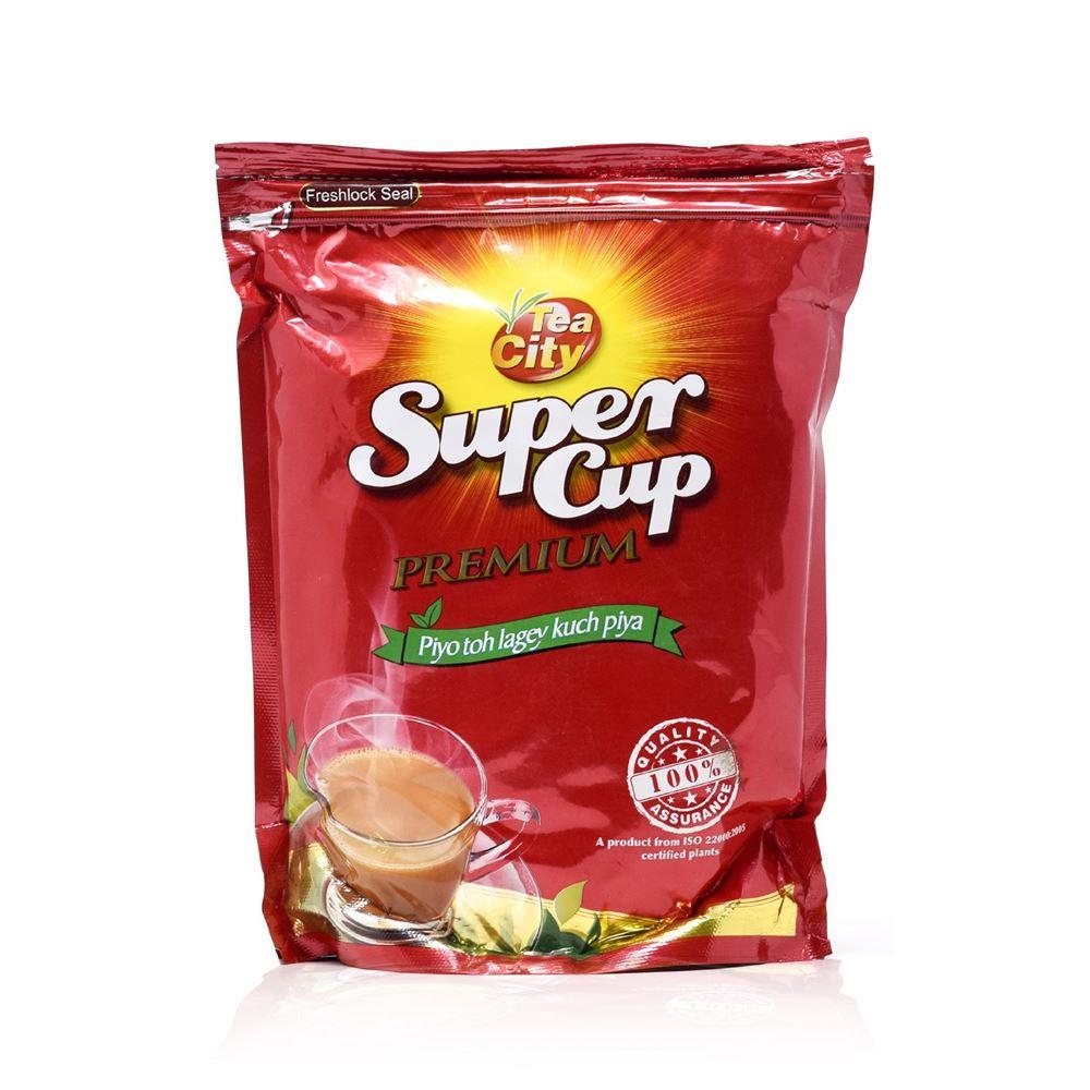 Super Cup Tea - Premium, 500g Poly Pack