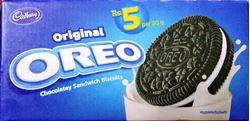 Cadbury Oreo Vanilla Creme Biscuit, 20g