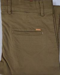 Men Khaki Slim Fit  Formal Trousers size 36