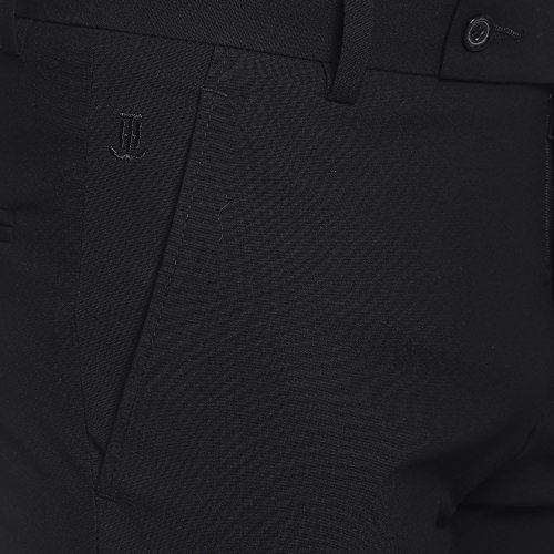 Men's  Flat Front Z Black 4 Stretch Trouser size 30