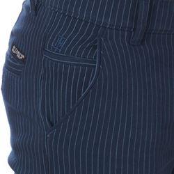 Men's Slim Fit Blue Lining Casual Trouser Non Denim  size 38