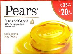 Pears Pure and Gentle Soap Bar, 60g