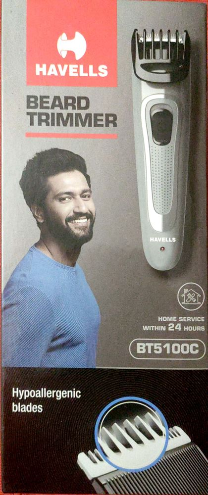Havells BT5100C Micro USB rechargeable Beard & Moustache Trimmer