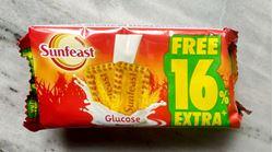 Sunfeast Biscuits - Glucose, 48g+8g EXTRA