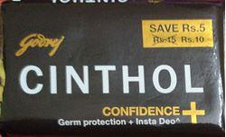 CINTHOL Confidance+ Germ Protection + Insta Deo 50g