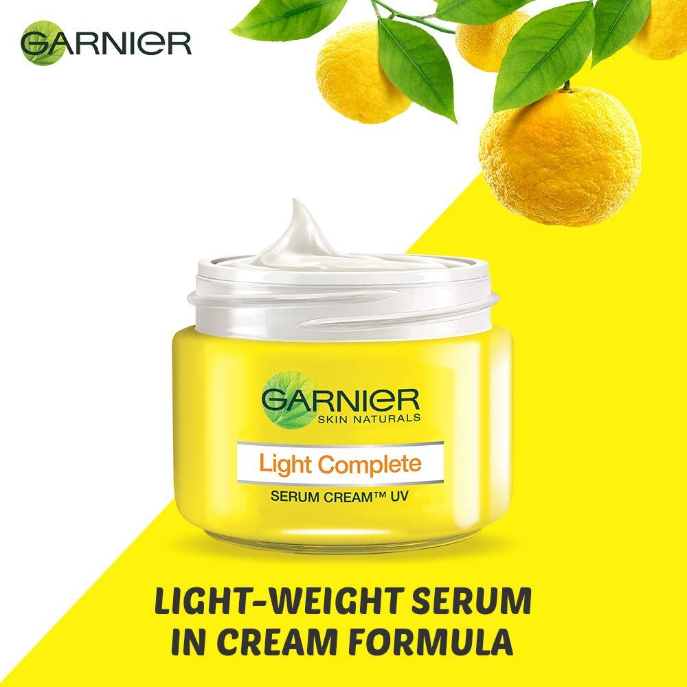 Garnier Light Complete Fairness Serum Cream, 23g