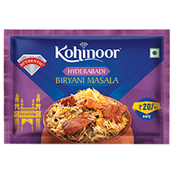 Kohinoor Rasoi Ka Raja Hyderabadi Biryani Masala 15g
