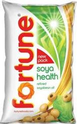 Fortune Refined Soyabean Oil Pouch 1 L