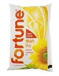 Fortune Sunlite Refined Sunflower Oil : 1 Litre