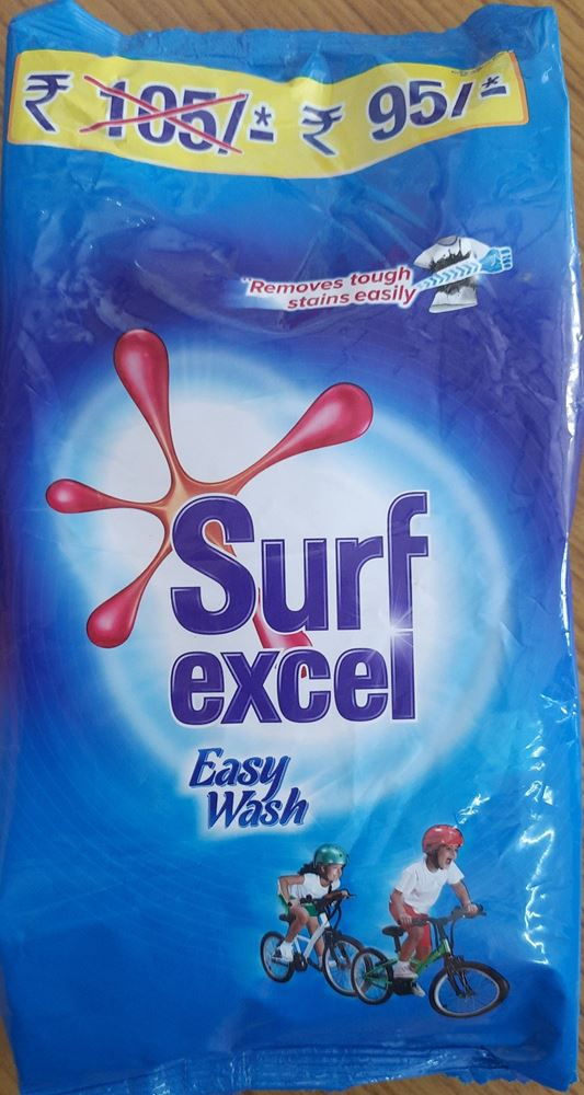 Surf Excel Easy Wash Detergent Powder - 1 kg