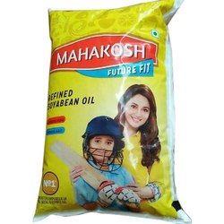 Mahakosh Refined Soyabean Oil Pouch  (1 L)